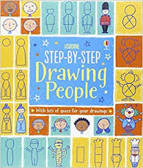 step by step drawing people step by step drawing book amazon co uk fiona watt candice whatmore 9781409581185 books