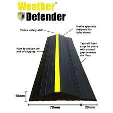 garage door seal stripGarage Door Floor Seal Weather Defender  Remember This