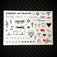 10 штпартия временные тату наклейки для детей детские школьные