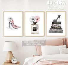 3 piece fashion poster set fashion wall