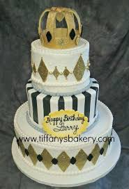 <b>Royal Crown Celebration</b> Tier Cake – Tiffany's Bakery