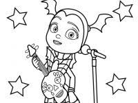 Free Disney Vampirina And Friends Coloring Pages Online To Printable