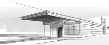 modern architecture sketch. Modern Architecture Sketches On (1140x477) Architectural Sketch Of Building C