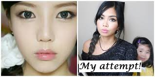 korean makeup tutorial doll eyes do you eye