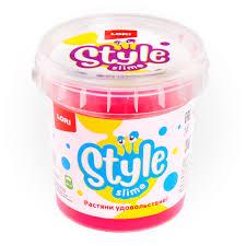 "STYLE <b>SLIME</b> классический "" Розовый с ароматом вишни"""