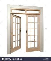 open french doors. Plain Open Isolated French Doors With One Door Open  Stock Image With Open French Doors D