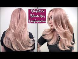 Guy Tang Color Chart Blush Rose Blonde Hair Transformation Youtube