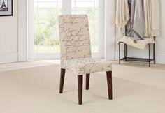 stretch pen pal short dining chair slipcover dinning room chair coverswhite