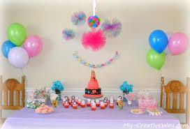 simple home decoron kids birthday amusing simple decoration for