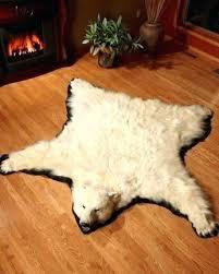faux polar bear rug bear rug for real a bear skin rugs for faux polar bear rug
