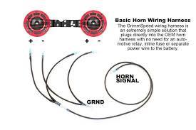 grimmspeed hella horn wiring harness Hella Air Horn Wiring Diagram GM Horn Relay Wiring Diagram