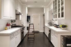 Kitchen Designs Galley Style Amazing Kitchen Low Cost Small Galley Kitchen Design With Red Accent