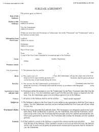 The distinction between a sublease and a lease is important from a legal the most important point to keep in mind is that the subtenant who signs a sublease agreement. Blumberg Sublease Agreement Nyc Fill Out And Sign Printable Pdf Template Signnow