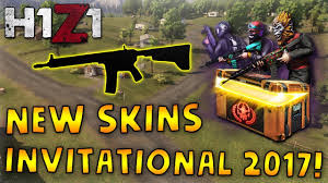 new h1z1 invitational 2017 crate announced inbo ar 15 imperial shotgun more