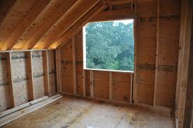 the entire house is built with advance framing techniques optimum value engineering to decrease lumber use increase strength and decrease thermal losses