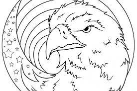 Small Picture Patriotic Eagle Coloring Pages GetColoringPagescom