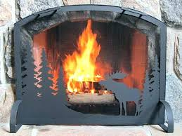 outdoor fireplace screens extra large screen custom