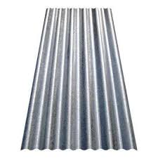 corrugated galvanized steel utility gauge roof panel