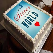 Cakes Personalized Photo Cake For Sister Gift Across India