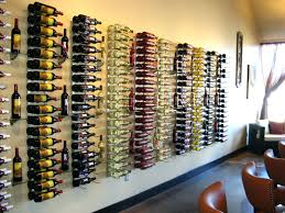 Good Wire Wine Rack Wall Mount Interior Vertical Glass Wine Racks With Wine  Bottle Board Placed On White Wall Creative Wine Rack Bookshelf