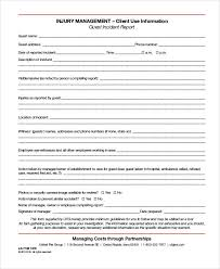 Free 35 Incident Report Forms In Pdf Doc