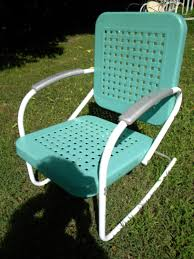 metal patio furniture vintage