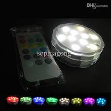2018 flower rgb submersible wireless remote led light rgb dimmable 10leds aaa battery powered for aquarium from sophiagong 26 31 dhgate com