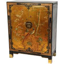 diy lacquer furniture. Amazon.com: Oriental Furniture Gold Leaf Nestling Birds Cabinet: Kitchen \u0026 Dining Diy Lacquer W