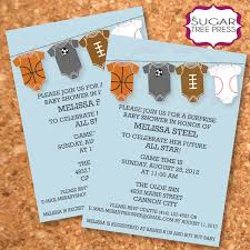 Top 10 Baby Shower Invitations Sports Theme Trends In 2017 Baby Shower Invitations Sports Theme