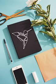 Diy Book Cover Design Diy Diy Notebook Cover Diy Origami Notebook Cover Design
