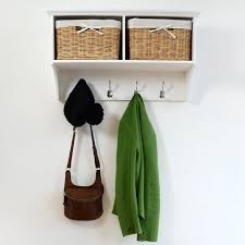 Coat Rack With Storage Baskets Interior Coat Hooks With Baskets Storage Unit Shoe Rack Coat Hanger 24