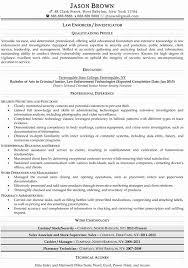 50 Lovely Law Enforcement Curriculum Vitae Sample Resume