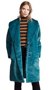 photo yumi kim aspen faux faur coat