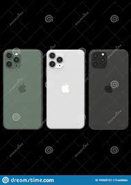Apple IPhone 11 Pro - 3 Colors, Compared, In A Row Editorial Photo - Image  of dynamic, gold: 165805191
