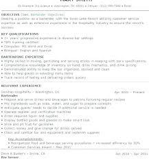 Example Bartender Resume Awesome Bartender Example Resume Bartender Resume Examples Resume Examples