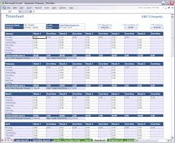 Excel Business Planner Time Sheet Timesheet On Excel Chakrii