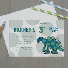 moo invitations trend personalised dinosaur party invitations children s by molly