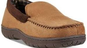 32 Degrees Mens Venetian Faux Suede Slippers For 10
