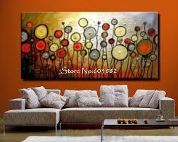 large wall paintingsWall Art Decor Orange Large Wall Art Cheap Sample Bulb White