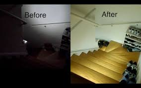 diy led strip lighting. This DIY Strip Light Stair Diy Led Lighting V