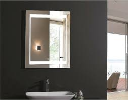lighted vanity mirrors for bathroom wall lights new lighted makeup mirror wall mount battery operated lighted