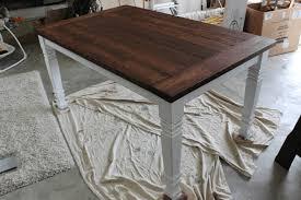 diy farmhouse table free plans