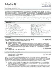 It Security Consultant Resume Nmdnconference Com Example Resume