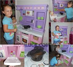 Pink Step 2 Kitchen A Little Girls Dream Toy The Step2 Little Bakers Kitchen Mom Luck