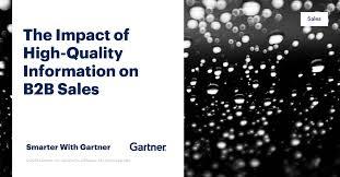 The Impact of <b>High</b>-<b>Quality</b> Information on B2B <b>Sales</b> - Smarter With ...