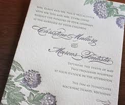 spring floral letterpress wedding invitation gallery laura Hydrangea Letterpress Wedding Invitation classic purple & green letterpress floral country spring wedding invitation Elegant Wedding Invitations