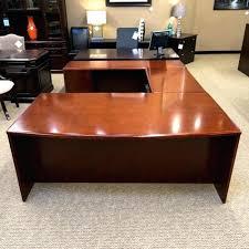 u shaped office desks for sale. Fine Desks U Shaped Office Desk Cherry Used Left Executive Desks Sale Kidney Glass  On U Shaped Office Desks For Sale