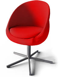 skruvsta swivel chair 3d view