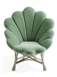 cloth chairs furniture. shell like upholstered venus chair cloth chairs furniture
