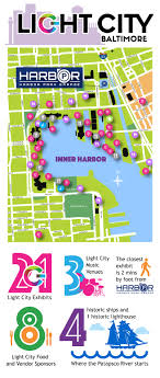 Baltimore Light City 2019 Light City Events Promos For Inner Harbor And Baltimore
